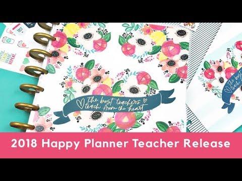 2018 Happy Planner Teacher Release