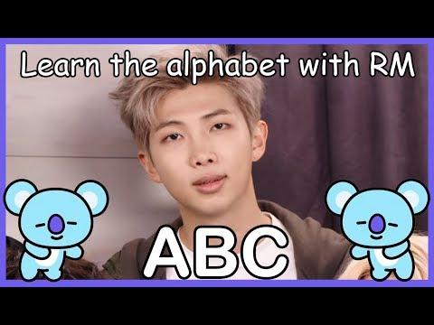 LEARN THE ALPHABET WITH BTS' RM