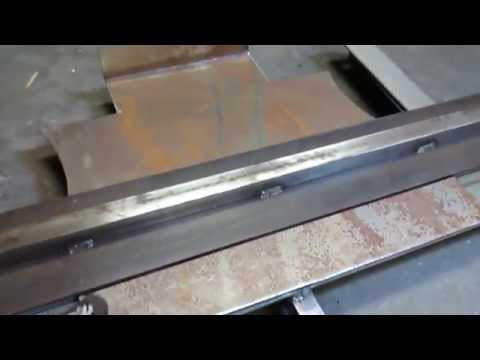 DIY sheet metal break