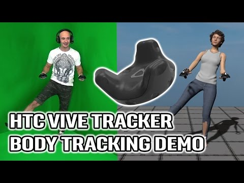 HTC Vive Full Body Tracking Demo in VR! Hands-on Vive Trackers for Body Tracking in Virtual Reality