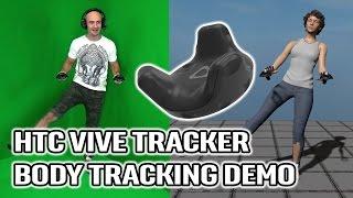 HTC Vive Full Body Tracking Demo in VR! Hands-on Vive Trackers for Body Tracking in Virtual Reality