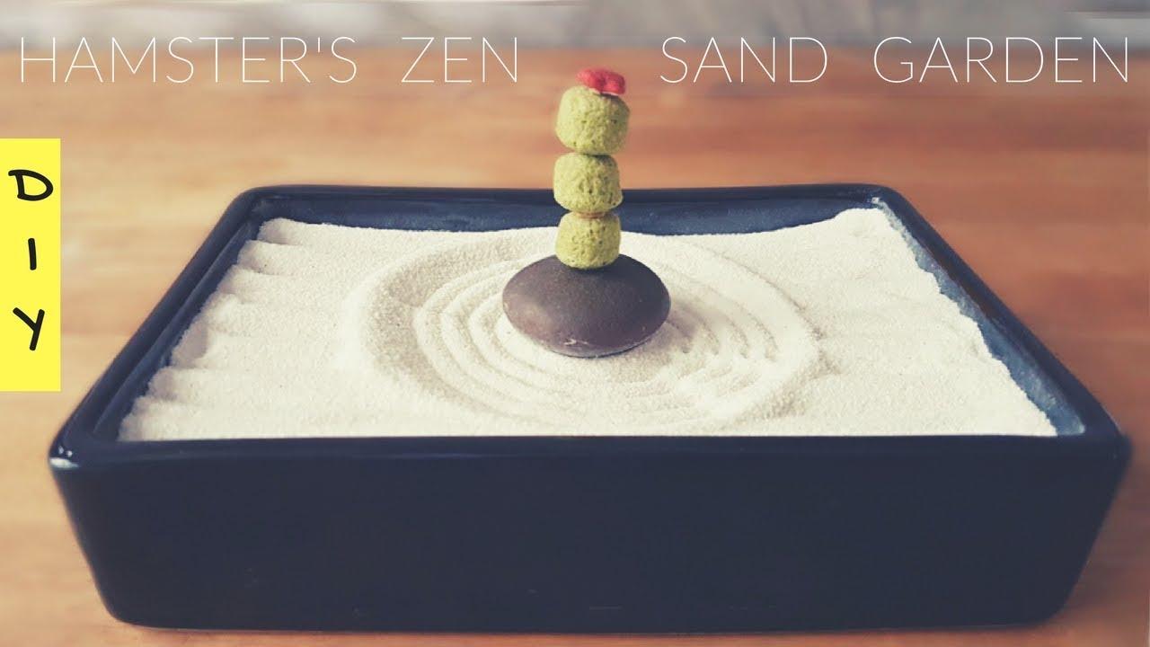 Hamster Sand Box Japanese Zen Garden Style DIY