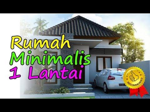 Gambar Rumah Minimalis 1 Lantai Tampak Depan dan Warna Cat Pilihan