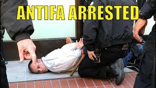 [4K] #Antifa Arrested @ Justice for Kate March in SF