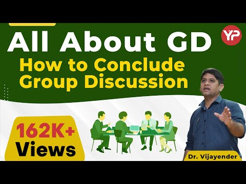How to conclude Group Discussion