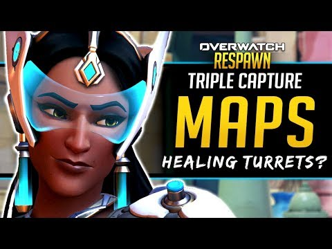 Overwatch Respawn #54 - Triple Capture maps, Healing Turrets, and more!