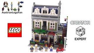 Lego Creator 10243 Parisian Restaurant - Lego Speed Build Review