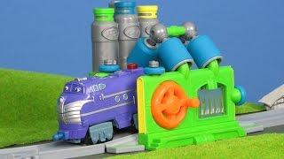 Chuggington die Loks sind Los Unboxing: Bastian & Wilson Waschanlage für Züge deutsch