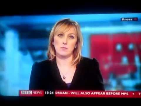 Martine Croxall | BBC News 24 | 231012
