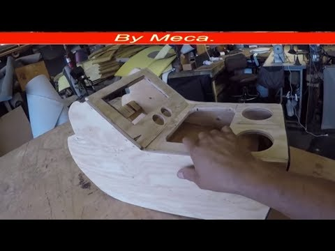 How To Make A Custom Center Console From Scratch Part 1-2.