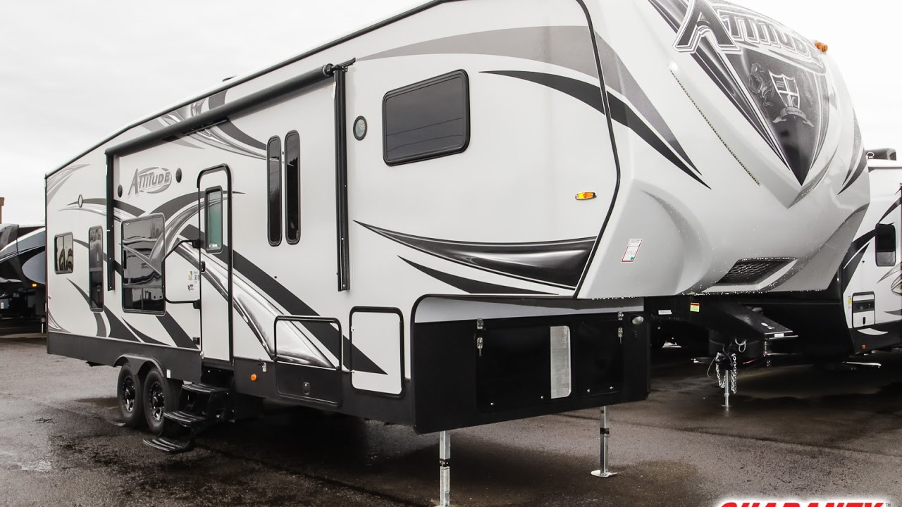 Attitude Toy Hauler >> 2017 Eclipse Attitude 32 SAG Toy Hauler Fifth Wheel Video ...