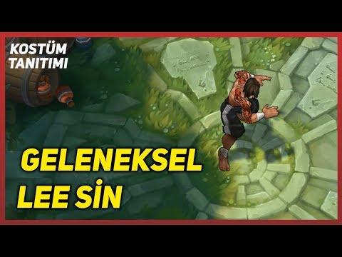 Geleneksel Lee Sin (Kostüm Tanıtımı) League of Legends
