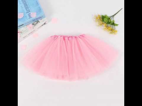 2-8 Years Tutu Girls Party Ballet Dance Wear Pettiskirt Princess Kids Skirts for Girls