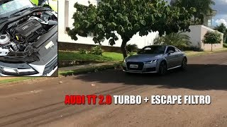Role de Audi TT + escape e filtro !!