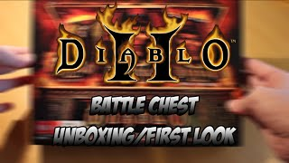 Diablo 2 Battle Chest Unboxing and First Look | FiyasbroGaming