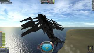 Most Kerbal Spacecraft Ever - Part 2 - Jet Plane Nuclear Sub