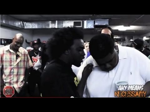 AHAT - Nov vs Big Kannon Rap Battle - Chicago vs Las Vegas