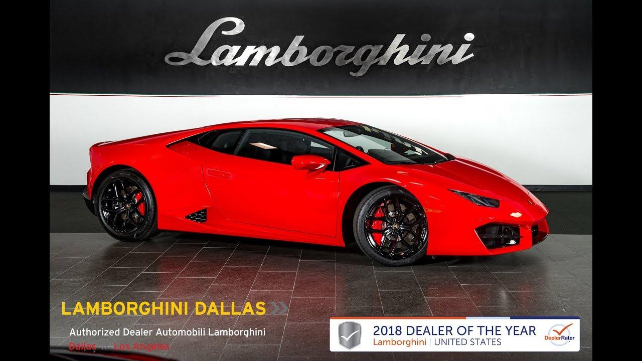 2019 Lamborghini Huracan Lp 580 2 Rosso Mars 19l0134 Youtube