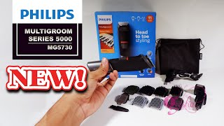 PHILIPS, Multigroom MG5730 - Hair Clipper (Review Indonesia)