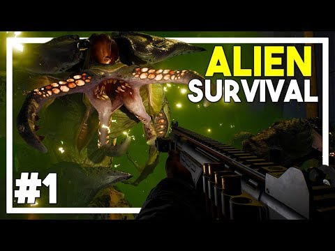 EARTH HAS FALLEN! - Alien Survival Game! - Earthfall Gameplay 2018 (Walkthrough Episode 1)