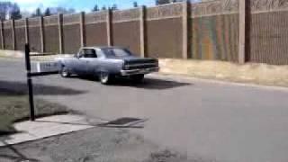 Toms 64 Chevelle 1st test drive
