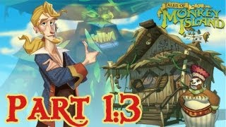 Tales of Monkey Island: Chapter 1: Launch of the Screaming Narwhal - Part 3 - HD Walkthrough