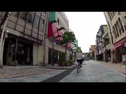 衰退した前橋市中央商店街(銀座通り〜中央通り)H24