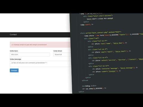 Tutoriel PHP : Formulaire de contact en PHP