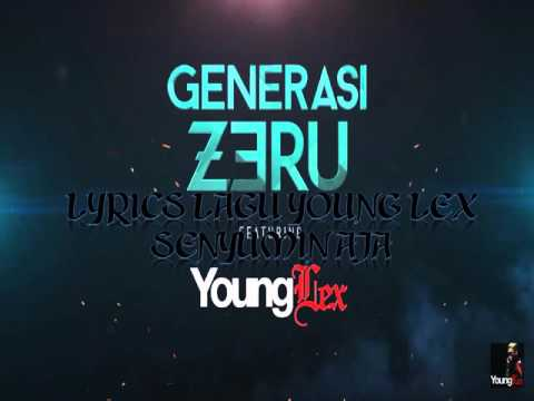 Lyrics Lagu Young Lex - Senyumin Aja