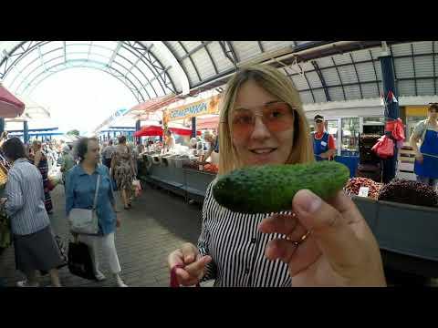 白俄罗斯媳妇苏莎逛菜市场买食材,为中国丈夫大吴做午饭,满满幸福感