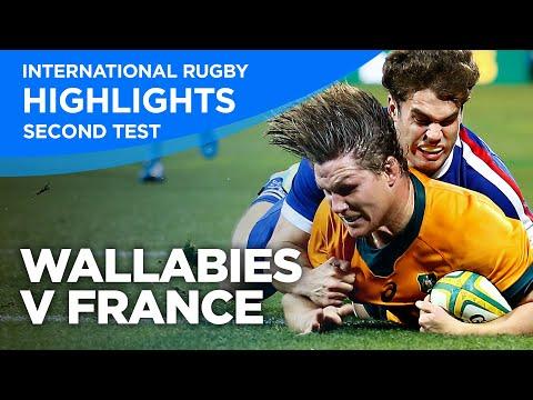 Wallabies v France - Second Test | Highlights | 2021