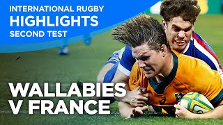 Wallabies v France - Second Test   Highlights   2021