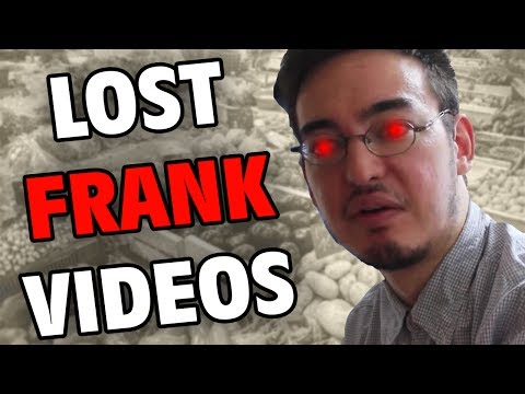 The Missing Filthy Frank Videos - Internet Mysteries - GFM (Lost Pink Guy Episodes)