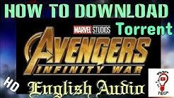 How to Download Avengers Infinity War in 700 MB || 720p Torrent||