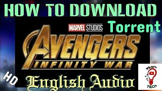 How to Download Avengers Infinity War in 700 MB || 720p Torrent||