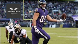 How Mark Andrews became the defacto No. 1 receiver in Baltimore
