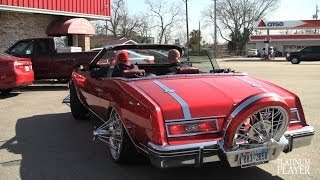 BUICK RIVIERA on 20 INCH TEXAN WIRE WHEELS- HOUSTON
