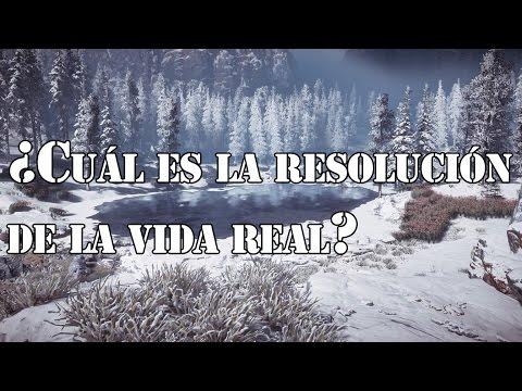 ¿Cuál es la resolución de la vida real? - Hey Arnoldo