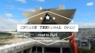 Cruise Terminal Open in Tokyo