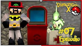 Minecraft DIMENSÃO X #7 - CONSEGUIMOS O PC! LARVITAR SEU LINDO [Pixelmon]