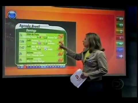 "Multi-Touch Solutions - ""Olimpíadas - ""Beijing 2008 Olympic Games (Globo TV) - Video 2"