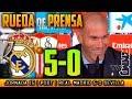 Real Madrid 5 0 Sevilla Rueda de prensa de Zidane  09 12 2017    POST LIGA JORNADA 15