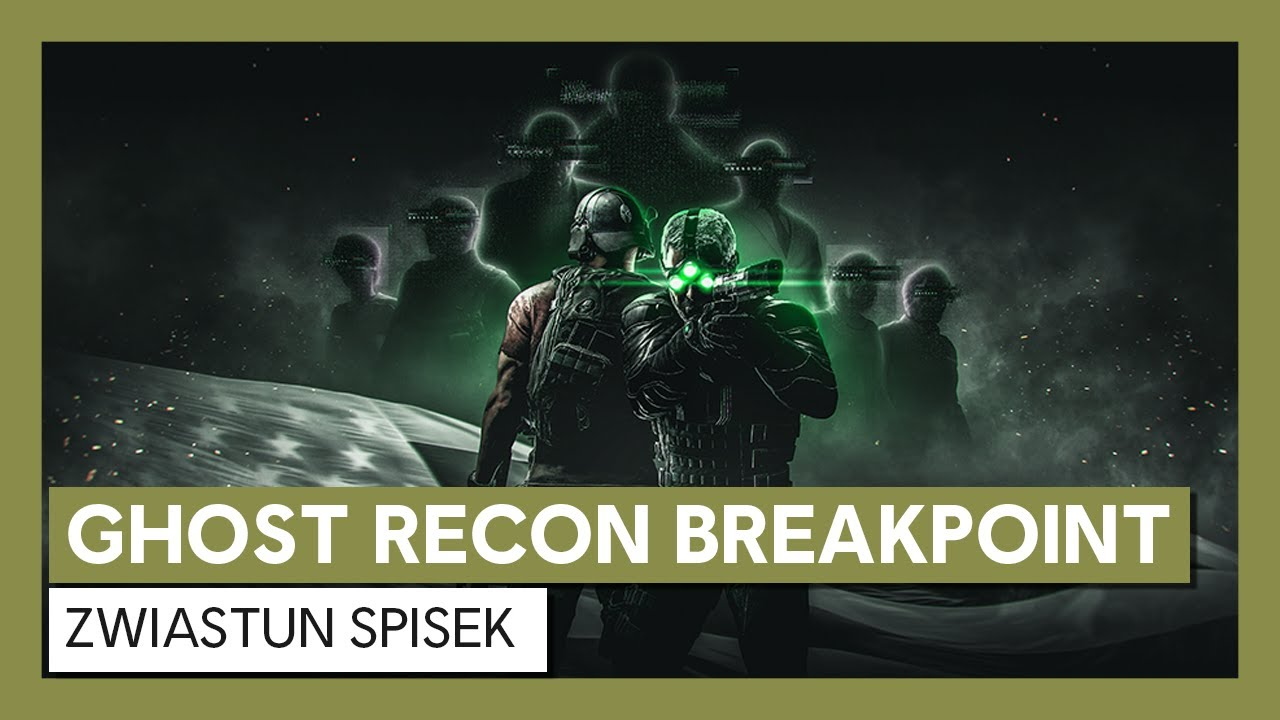 Ghost Recon Breakpoint: Zwiastun Spisek