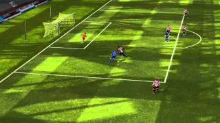 FIFA 14 iPhone/iPad - FC JTV vs. Sunderland