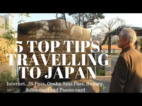 How to and 5 Tips Travel to Japan
