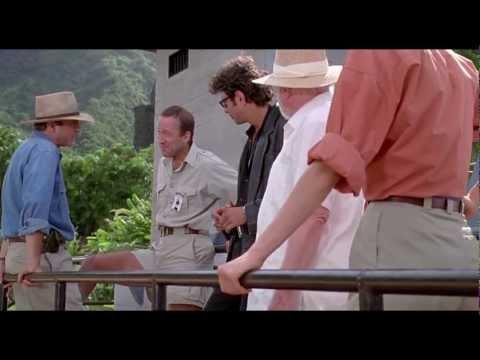 Jurassic Park 1993  Raptor Feeding  HD