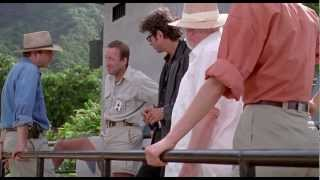 Jurassic Park 1993 - Raptor Feeding Scene HD