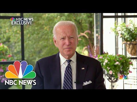 One-on-One With Joe Biden Ahead of Tuesday's Debate | NBC Nightly News