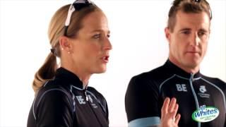 Q16: Is the swim portion of triathlons violent?
