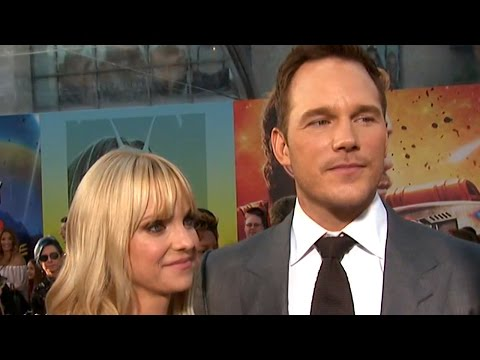 EXCLUSIVE: Anna Faris Says She's 'In Awe' of Husband Chris Pratt at 'Guardians 2' Premiere